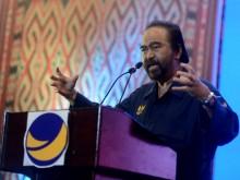 Airlangga Berpotensi Jadi Cawapres, Surya Paloh: Terserah Jokowi