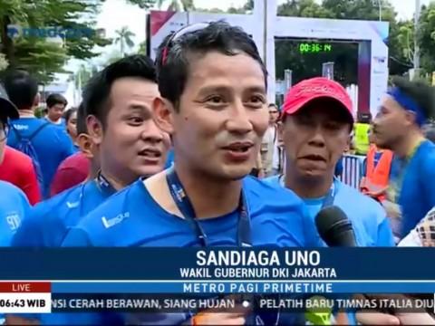 Sandiaga: Metro TV Heritage Run Gabungkan Olahraga dan Pariwisata