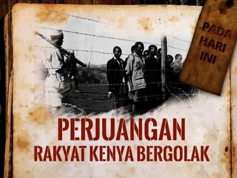 Hari ini: Perjuangan Rakyat Kenya Bergejolak