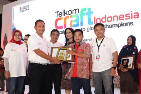 Telkom Craft Indonesia 2018 Catat Nilai Transaksi Rp20,1 Miliar