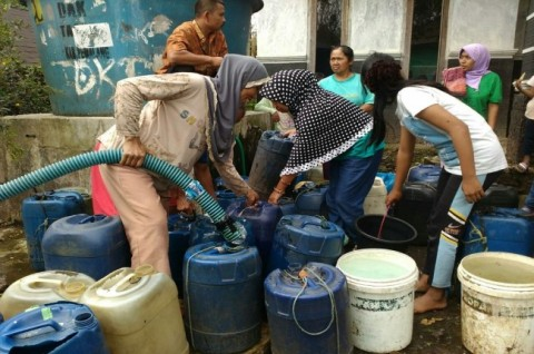 Ratusan Keluarga Kekurangan Air Bersih