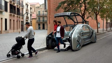 Renault Ez-Go Concept, Angkot Canggih Masa Depan