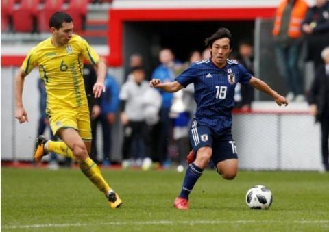 Timnas Ukraina Menang Tipis atas Jepang