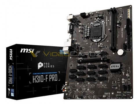 MSI H310-F PRO.