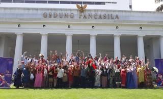 72 Pelajar Asing Belajar Seni dan Budaya di Indonesia
