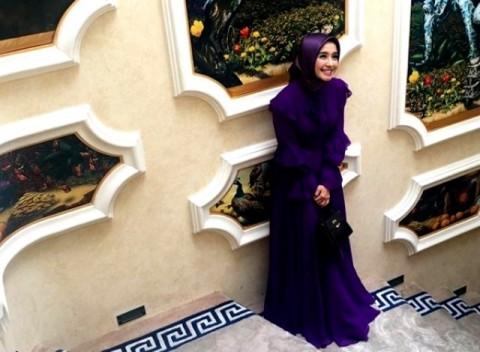 Inspirasi Hijab Laudya Cynthia Bella