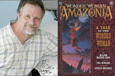 Artis Komik Wonder Woman, William Messner-Loebs Tak Punya Tempat Tinggal