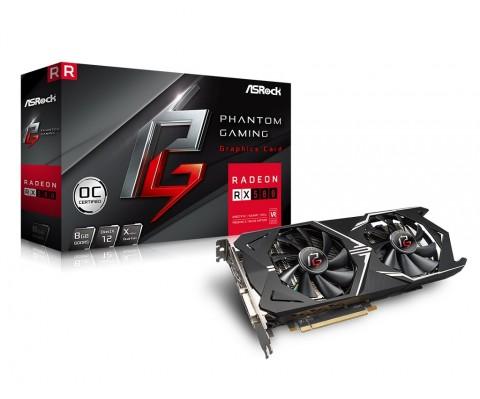 Lini Kartu Grafis Pertama ASRock Usung AMD Radeon RX Seri 500
