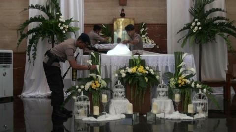 Polisi Yogyakarta Sterilisasi Puluhan Gereja Jelang Paskah