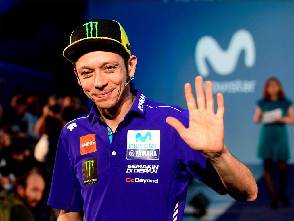 Valentino Rossi. (Foto: AFP/PIERRE-PHILIPPE MARCOU)
