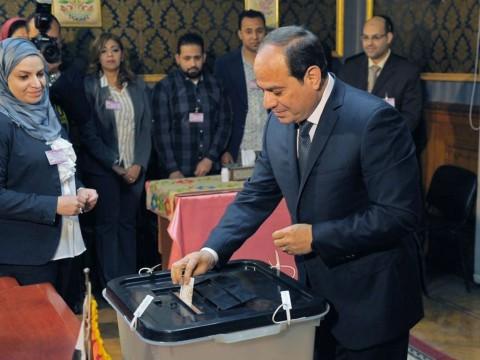 Unggul 92% Suara, Al Sisi Berpeluang Kembali sebagai Presiden Mesir
