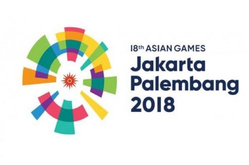 Lambang Asian Games 2018 yang berlangsung di Jakarta dan