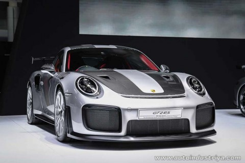 Porsche 911 GT2 RS Debut di Thailand