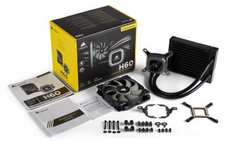 Hydro Series H60, Liquid Cooler Terbaru Corsair