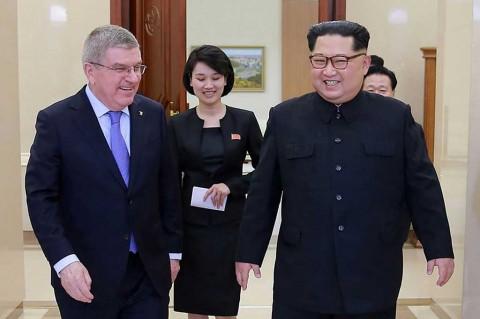 Ketua IOC Temui Kim Jong-Un