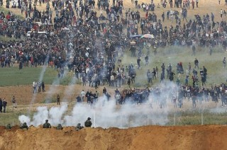 Bentrokan di Perbatasan Gaza Tewaskan 16 Warga Palestina
