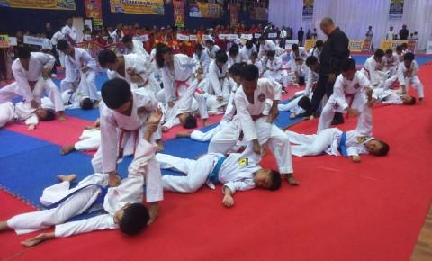 575 Karateka Bersaing di Kejurda Inkanas