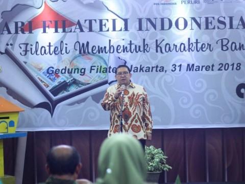 Fadli Zon: Filateli Mampu Memberantas Hoaks