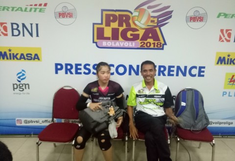 JPE Sapu Bersih <i>Final Four</i> Putaran Pertama