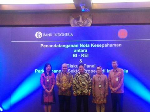 BI-REI Sepakati Kerja Sama Pertukaran Informasi di Sektor Perumahan