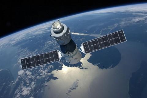 Stasiun Luar Angkasa Tiangong-1 Jatuh di Samudera Pasifik