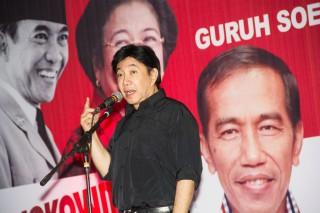 Guruh dan Jokowi Bahas Museum Bung Karno