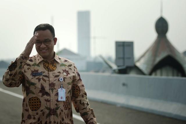 Gubernur DKI Jakarta Anies Baswedan - Antara/Rosa Pangabean.