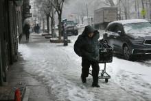 New York Terancam Hujan Salju Terparah dalam 36 Tahun