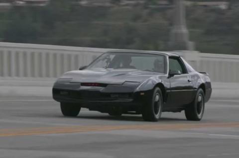 Nostalgia Kitt di Film Knight Rider