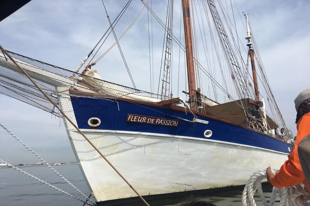 Fleur de Passion elah direnovasi oleh Swiss melalui organisasi petualang, The Ocean Mapping Expedition. (Foto: Sonya Michaella)