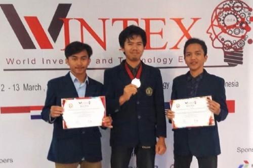 Tiga mahasiswa Universitas Brawijaya Malang menciptakan alat
