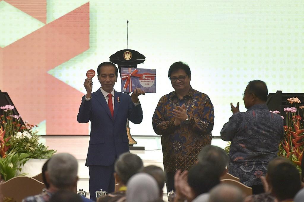 Jokowi Luncurkan Making Indonesia 4.0