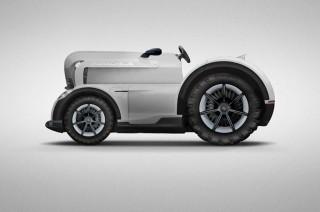 Mission E Model Tractor, April Mop ala Porsche