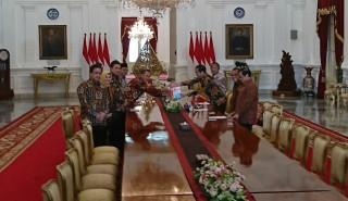 BPK Serahkan Hasil Pemeriksaan Semester II 2017 ke Jokowi