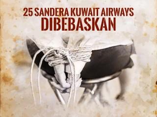 Hari Ini: 25 Sandera Kuwait Airways Dibebaskan