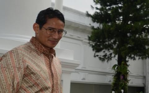 Sandi Tantang Menteri Susi di Pulau Tidung