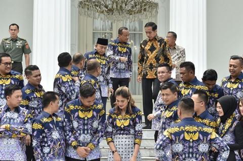 Temui Jokowi, HIPMI Minta Dilibatkan dalam Proyek Infrastruktur Daerah