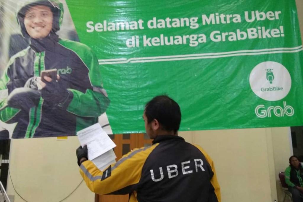 Mitra Uber Bermigrasi ke Grabbike
