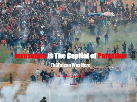 Situs Resmi Israel Diretas, Yerusalem jadi Ibu Kota Palestina