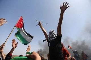 Bentrokan di Perbatasan Gaza Tewaskan 27 Warga Palestina