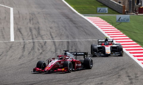 Sean Gelael Tampil Impresif di Feature Race F2 GP Bahrain