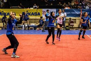Beban Berat Tim Putri BJB Lawan JPE di Final Proliga