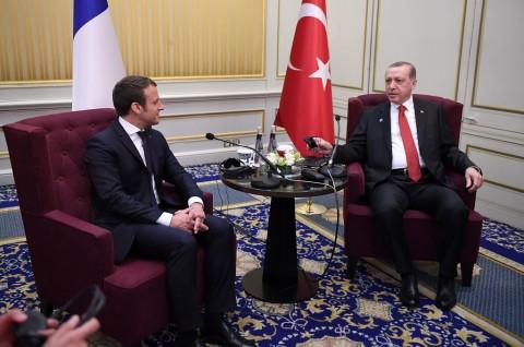 Erdogan Tuduh Prancis Tampung Teroris di Istana Elysee