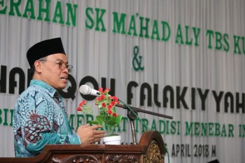 Direktur PD Pontren Kemenag Resmikan Ma'had Aly TBS Kudus Bidang Falak