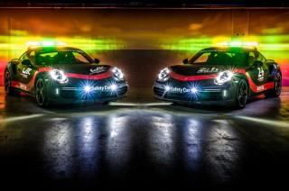 Porsche 911 Turbo Kawal Balap Le Mans 24 Hours