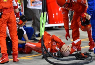 Cerita Raikkonen Setelah Bikin Mekaniknya Cedera