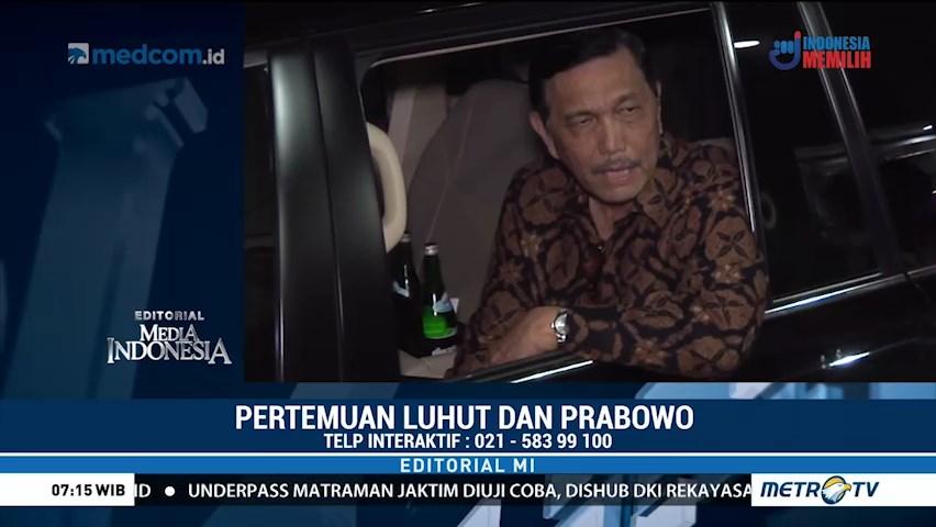 Pertemuan Luhut dan Prabowo