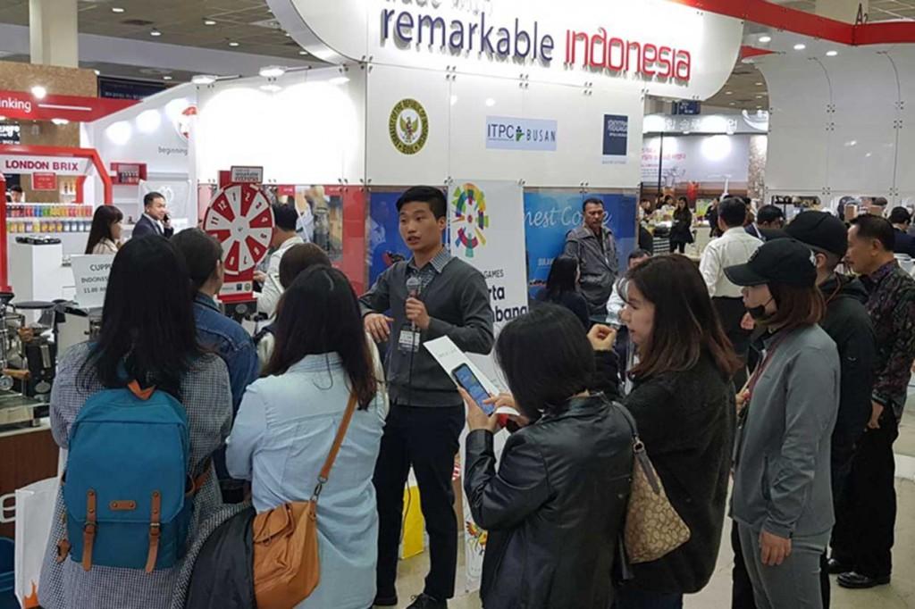 Pameran Kopi RI di Seoul Catat Transaksi Rp110 Miliar