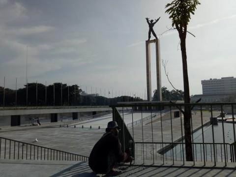 Revitalisasi Taman Lapangan Banteng segera Rampung
