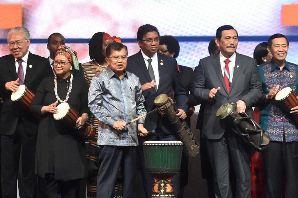 JK: RI-Afrika Berpotensi Besar untuk Berkembang